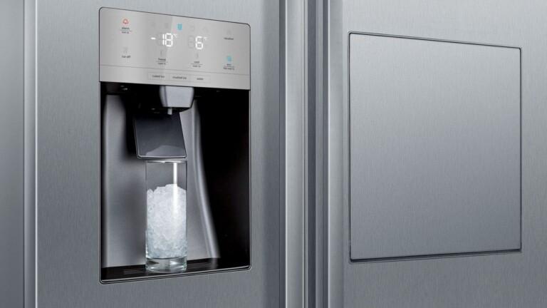 Siemens IQ500: XXL-Kühlschrank mit integrierter Minibar