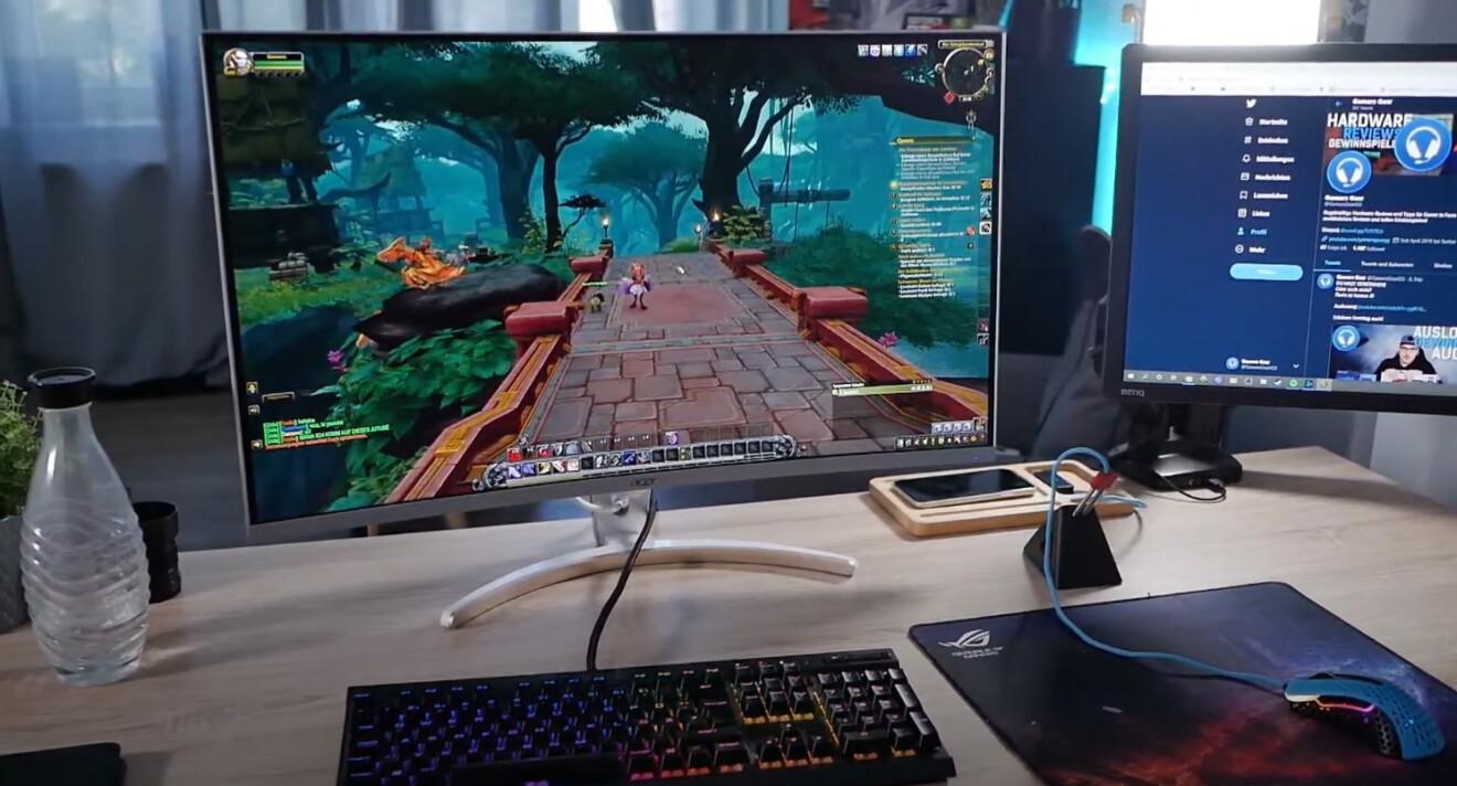 Acer ED323QUR WQHD: Gaming-Monitor mit großen Kurven