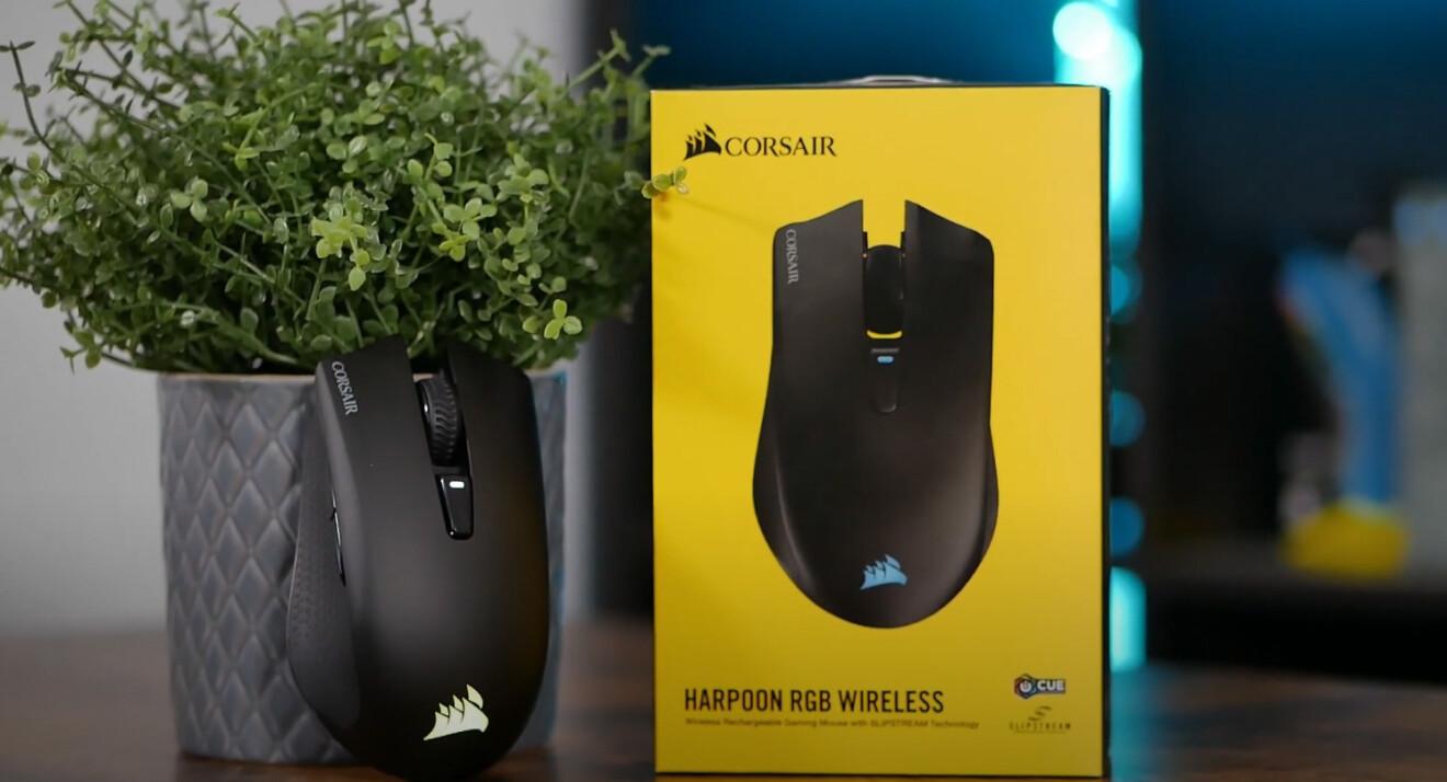 Corsair Harpoon RGB Wireless: Guter Preis und gute Technik