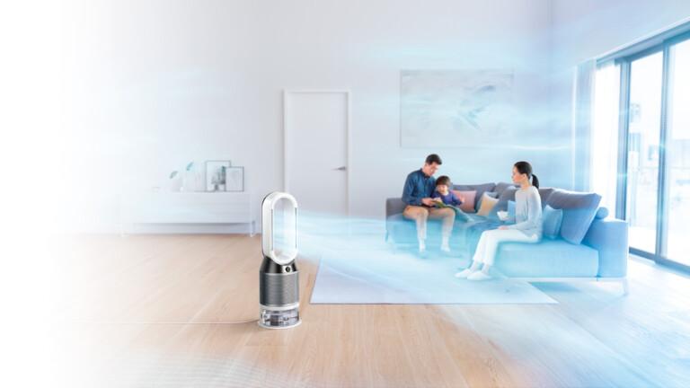 Luftreiniger, Luftbefeuchter und Luftmischer in einem: Der Dyson PH01
