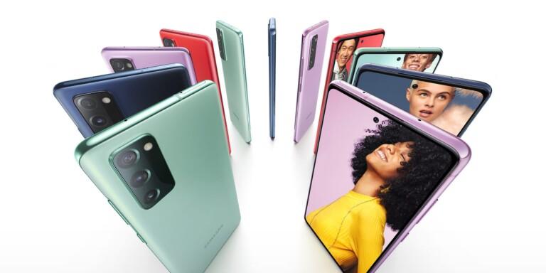 Auch das neue Samsung Galaxy S20 FE ist ein Smartphone mit 120Hz-Display. (Foto: Samsung)