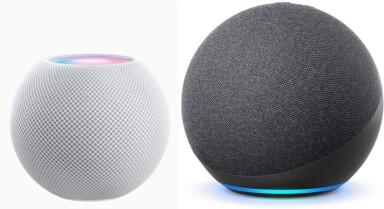 Apple HomePod Mini vs. Amazon Echo 4. Gen
