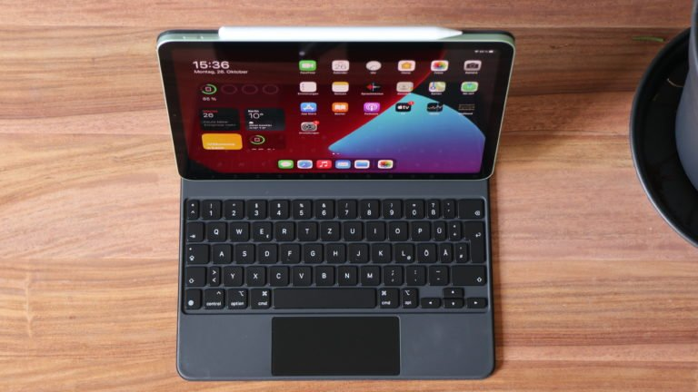 Apple iPad Air 4 mit Magic Keyboard