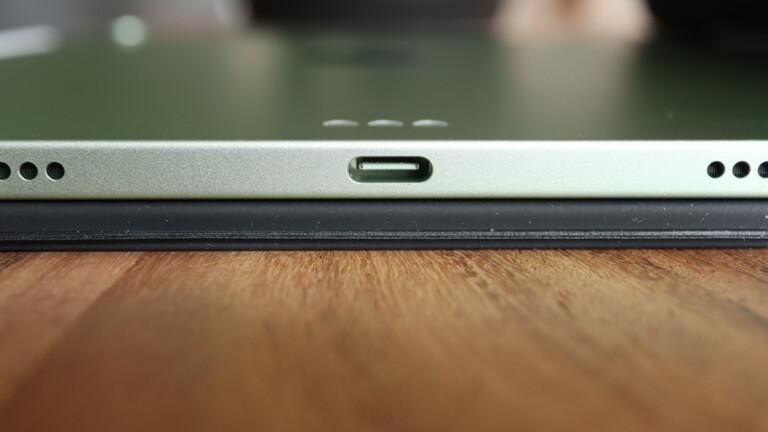 Das iPad Air 4 hat jetzt USB-C.