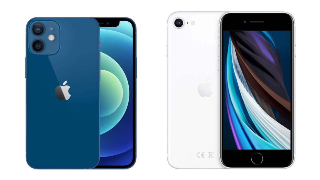 iPhone 12 Mini vs. iPhone SE (2020): Apples Kleine im Vergleich