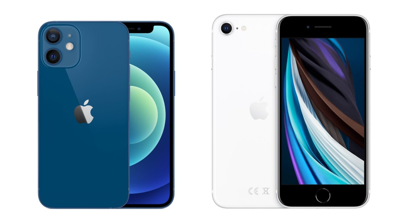 Apple iPhone 12 Mini vs. iPhone SE 2020 Vergleich