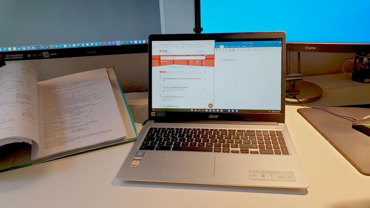 Wie gut eignen sich Chromebooks fürs Studium?