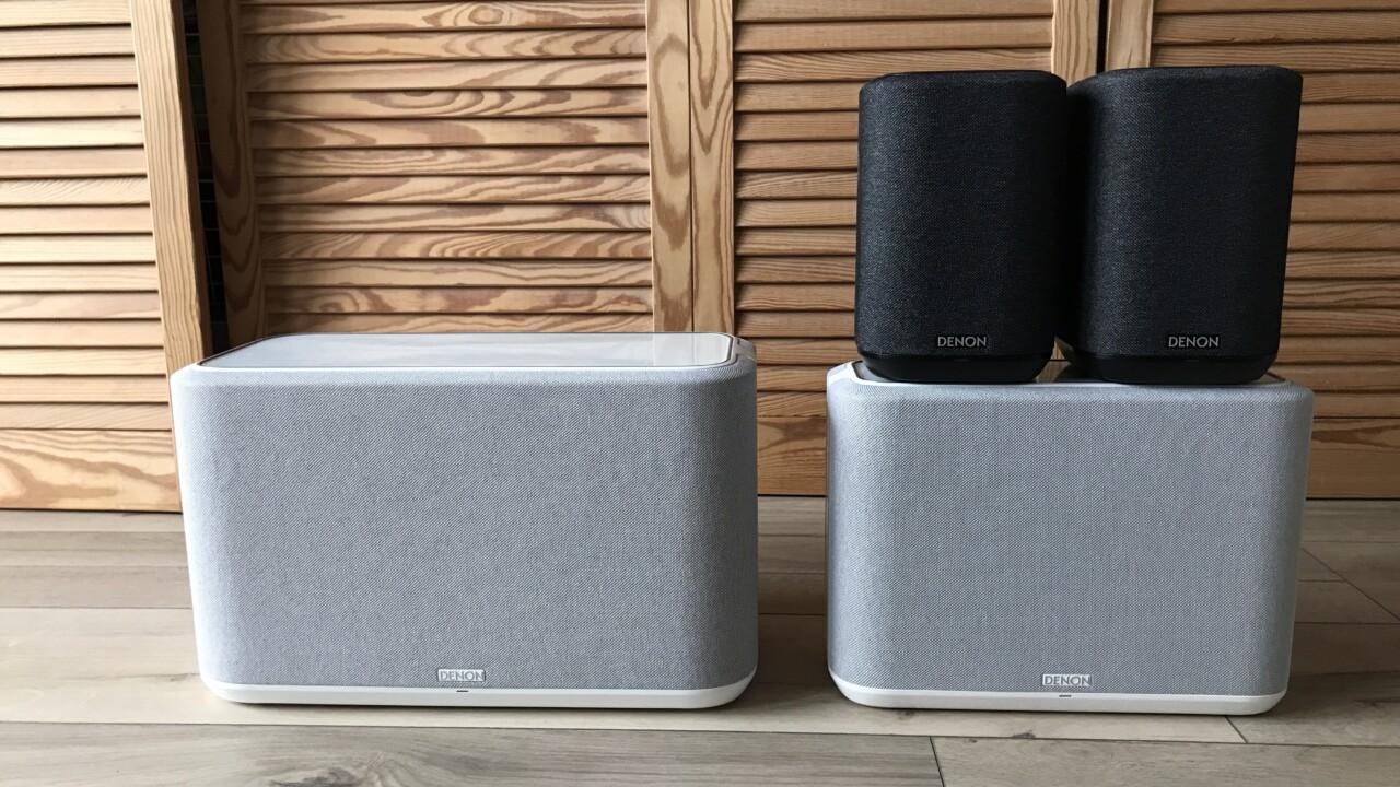 Denon Home 350, 250 und 150 ausprobiert: Multiroom mit Profi-Klang