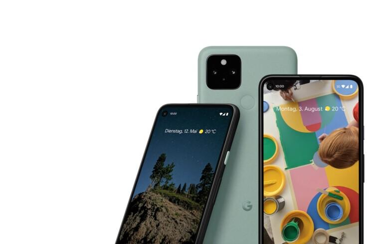 Die neuen Pixel-Smartphones 5 und 4a 5G