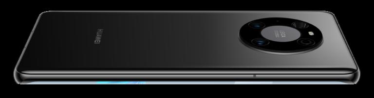 Space-Ring-Design auf der Rückseite des Mate 40 Pro (hier in Schwarz)