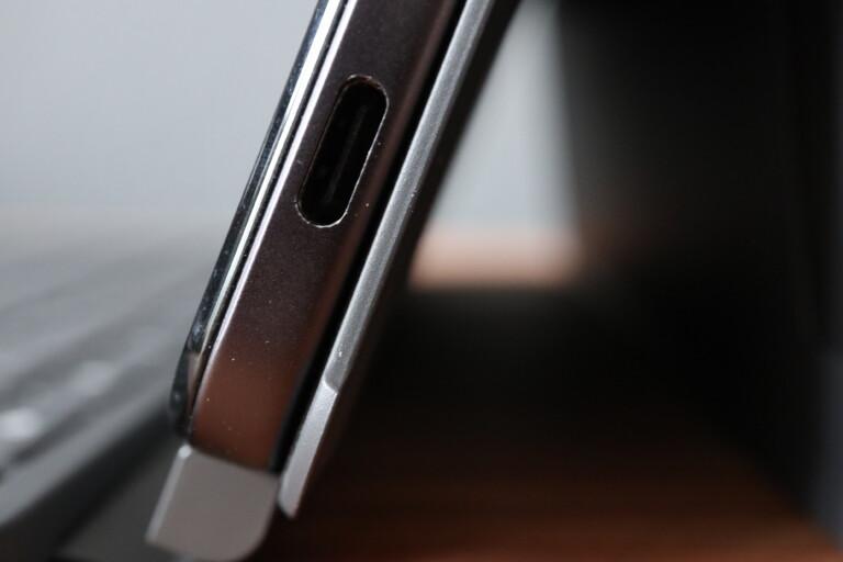 USB-C-Schnittstelle am IdeaPad Duet Chromebook