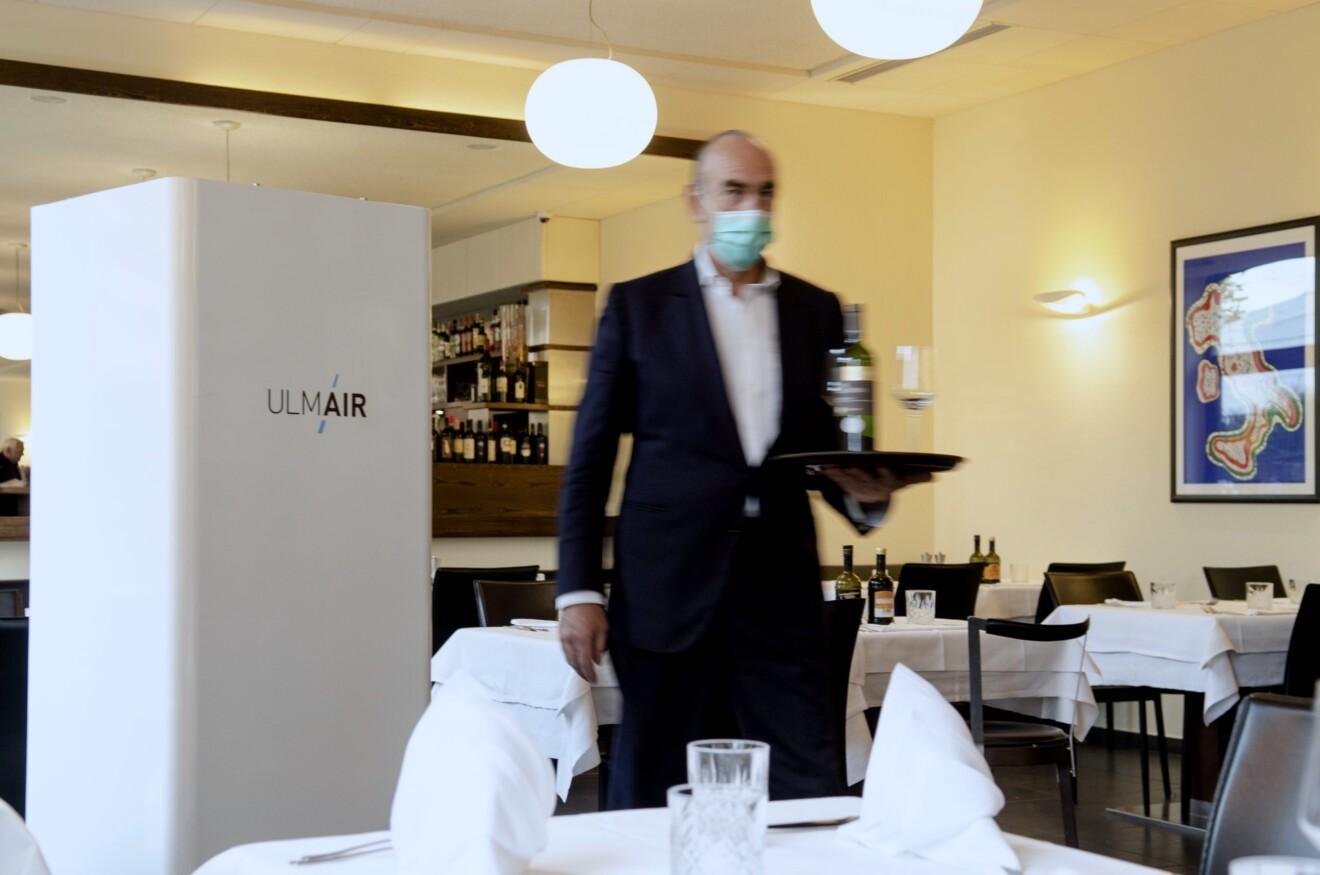 UlmAir Luftreiniger Gastronomie