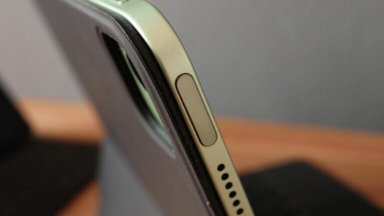 Das iPad Air 4 mit TouchID