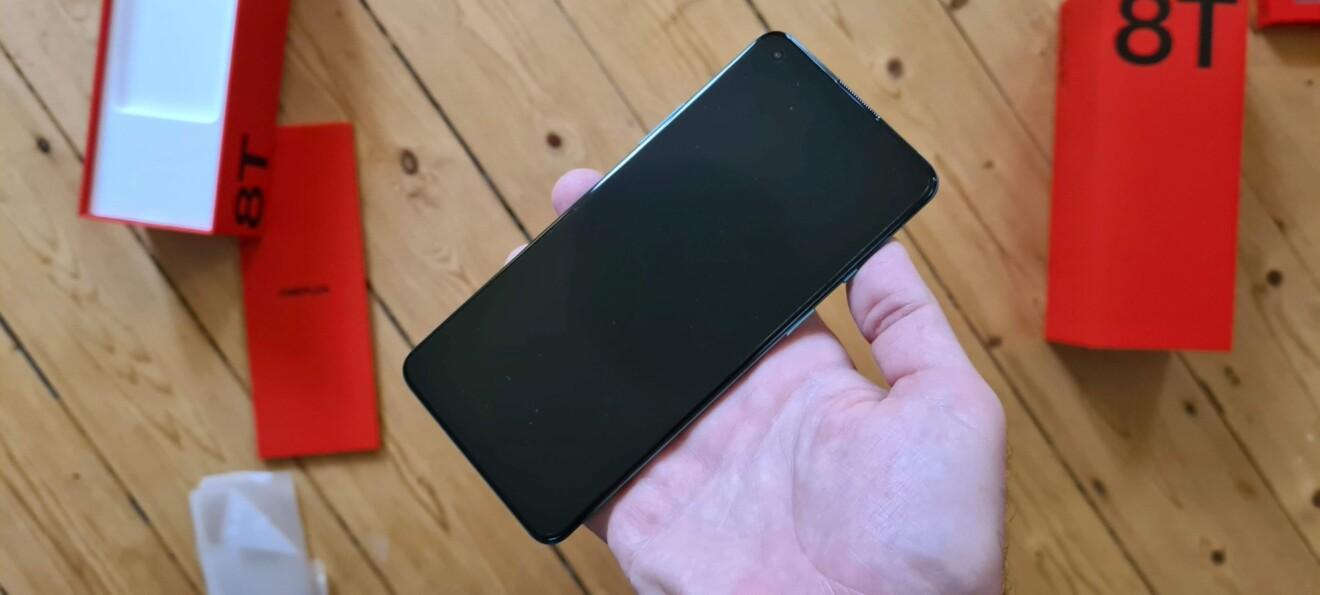 Das ist das OnePlus 8T. (Foto: Sven Wernicke)