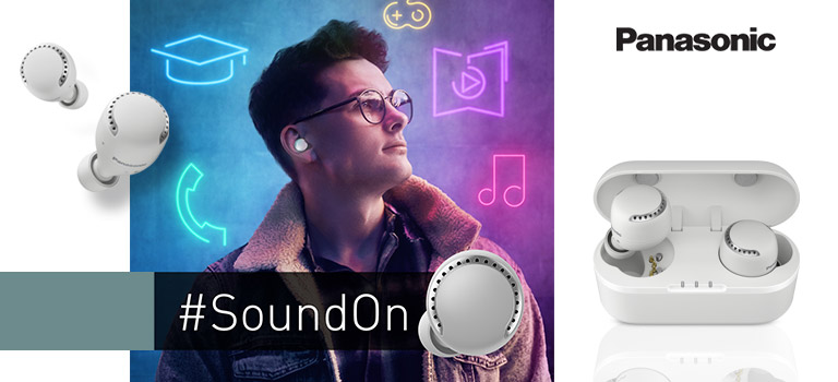 Panasonic Bluetooth In-Ear-Kopfhörer RZ-S500WE-W