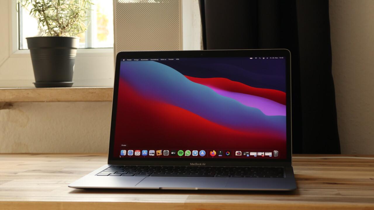 Apple MacBook M1 ausprobiert: Alles smooth