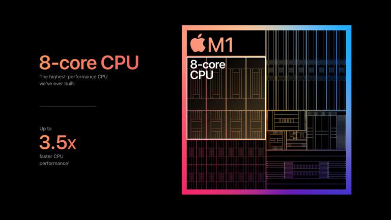 Apple M1-Chip Schema