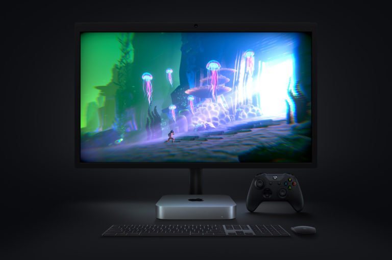 Der neue Mac Mini: Laut Apple auch bestens für Spiele geeignet