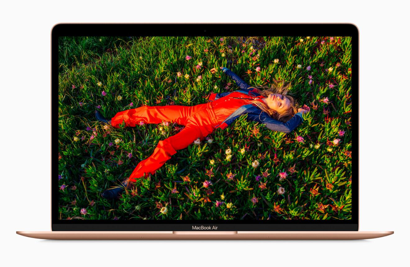Apple MacBook Air M1 in gold