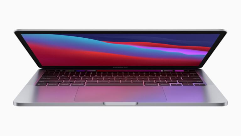 Optisch unverändert: Das neue MacBook Pro 13''