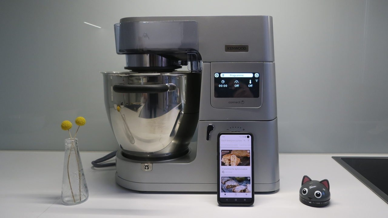 Kenwood Cooking Chef XL im Test: Waage, WLAN, Induktion