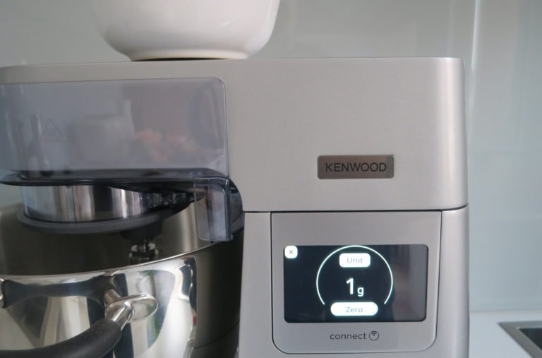 Wiegefunktion der Küchenmaschine Kenwood Cooking Chef XL Connect