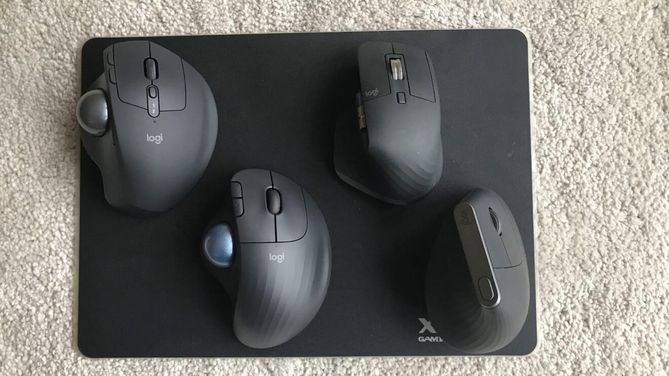 Trackball statt Maus