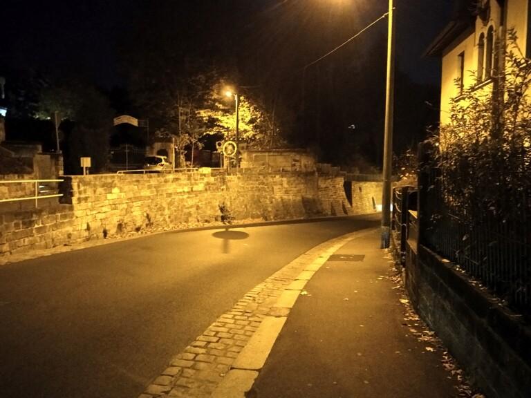 Nachtaufnahme. (Foto: Sven Wernicke)
