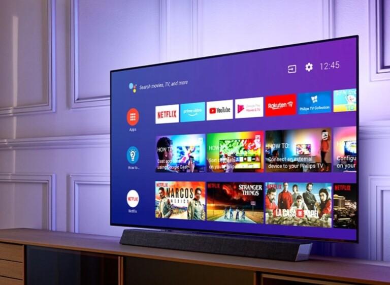 Hersteller wie Philips setzen auf Android TV. Vielleicht auch bald auf Google TV? (Foto: Philips)