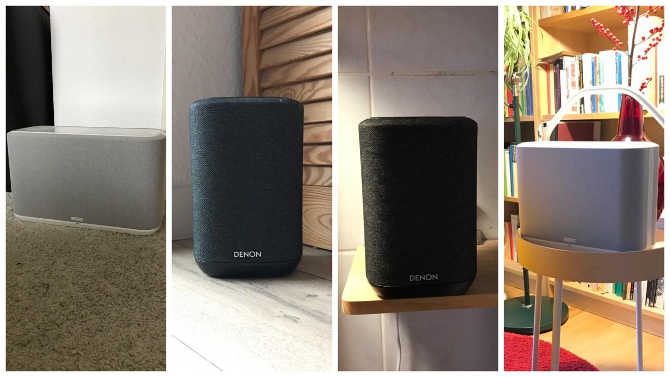 Multiroom-Lautsprecher von Denon