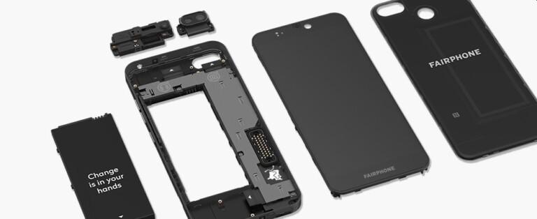 Das Fairphone lässt sich dank modularer Bauweise teils gut reparieren. (Foto: Fairphone)