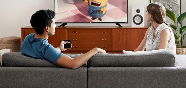 Chromecast bzw. Google Cast kann euren Fernseher für Videotelefonie fit machen. (Foto: Google)