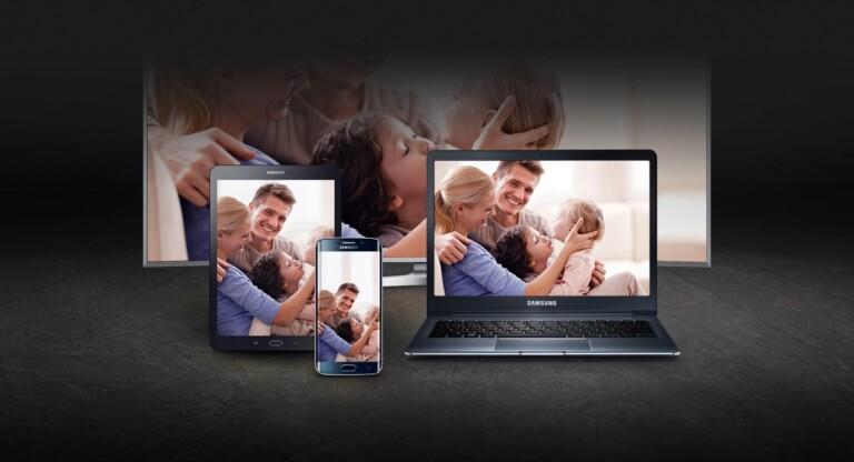 Samsung bietet das Spiegeln schon seit Jahren an. Hier heißt es Smart View. (Foto: Samsung)