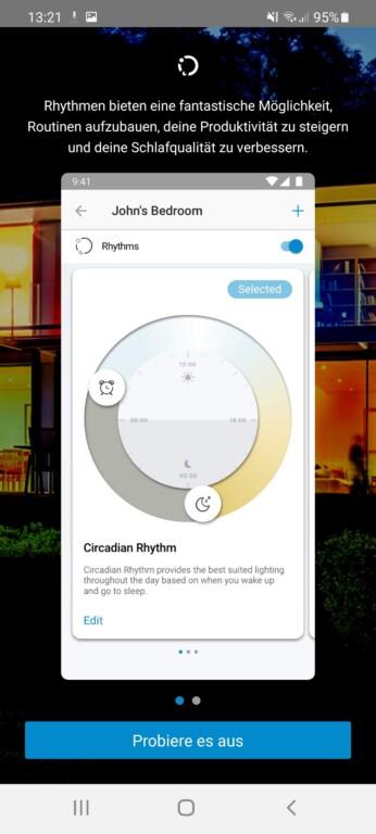 Rhythmus - sehr gute Idee. (Screenshot)