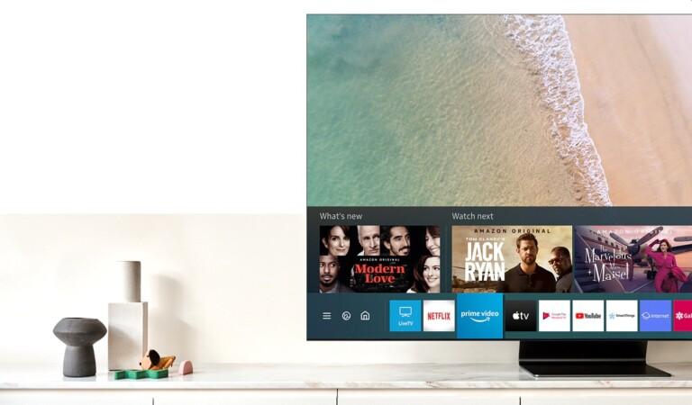 Egal, ob ihr Blu-rays schaut oder etwas streamt - der Soap-Opera-Effect kann euch erwarten. (Foto: Samsung)