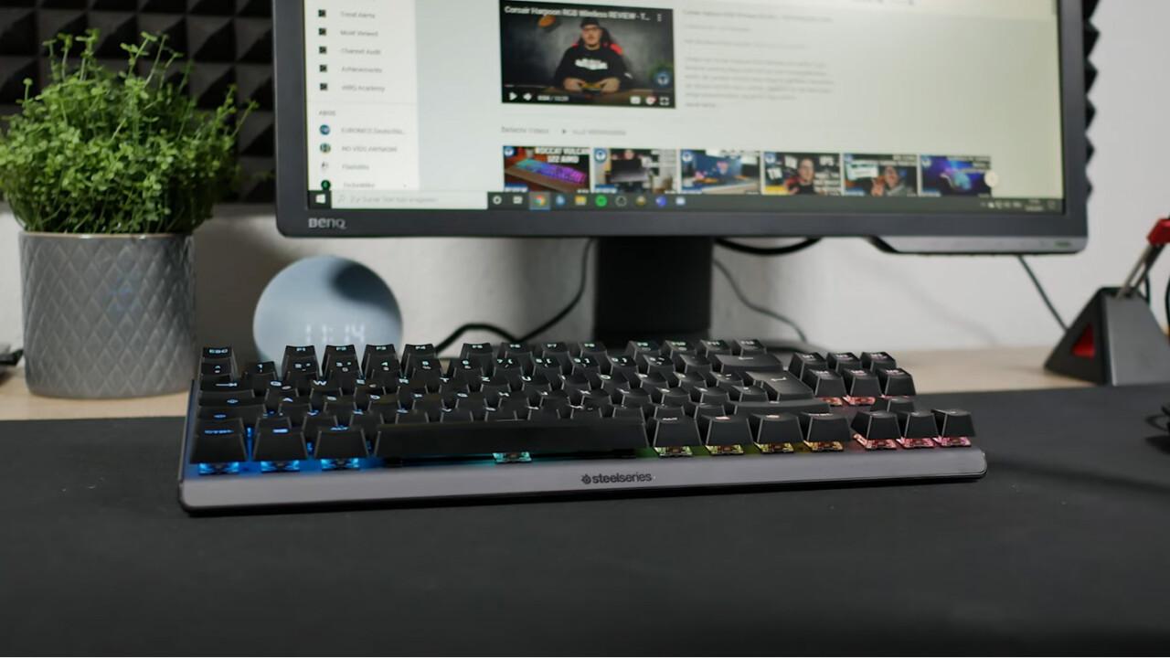 Steelseries Apex 7 TKL: Schicke und kompakte Gaming-Tastatur