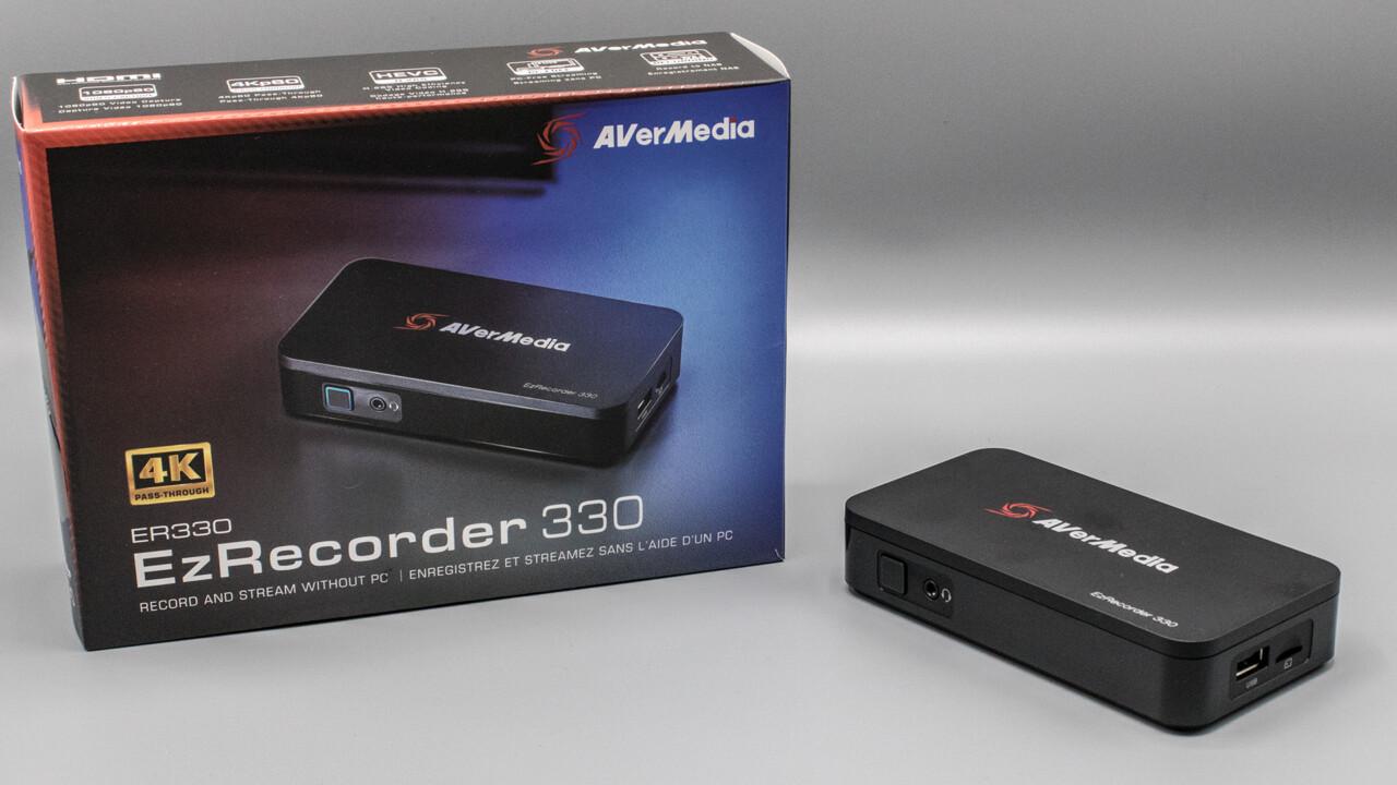AVerMedia EzRecorder 330 im Test: Capture Card für PS5, Xbox Series und Retro