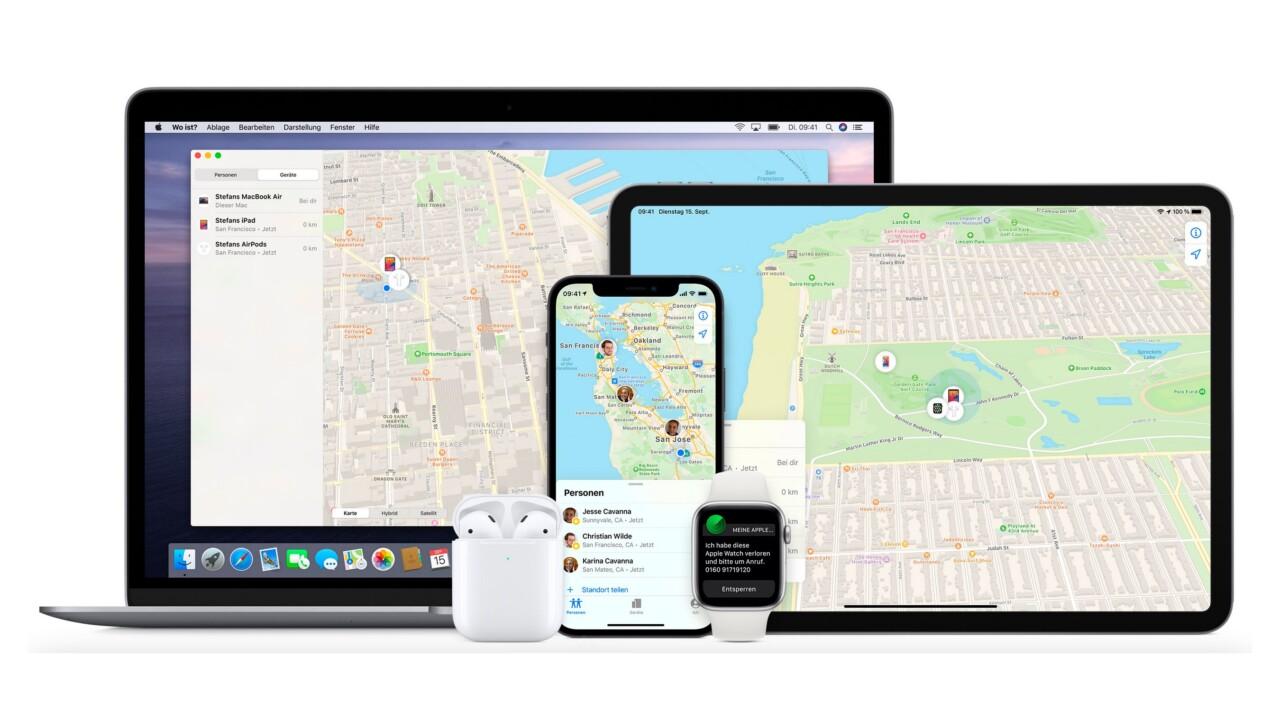 Apple Find My Network: Dinge lokalisieren und ansteuern