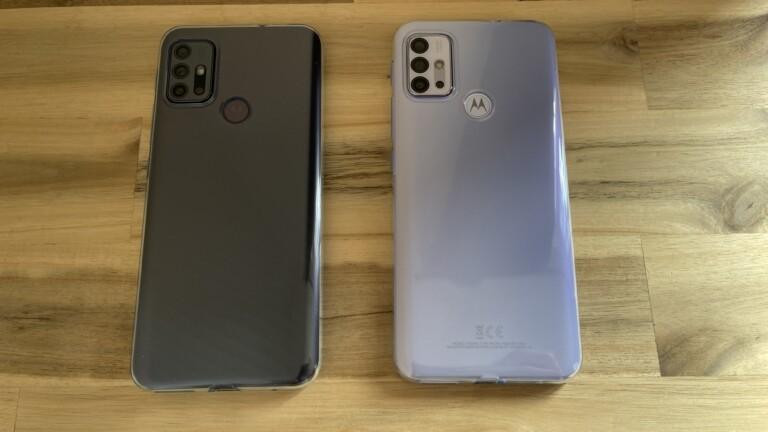 Motorola G10 und G30: Schick sind sie