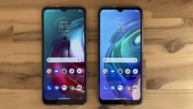 Motorola Moto G30 und G10