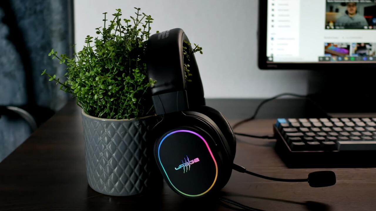 Soundz 800 7.1 Gaming-Headset: uRage kann auch höherpreisig