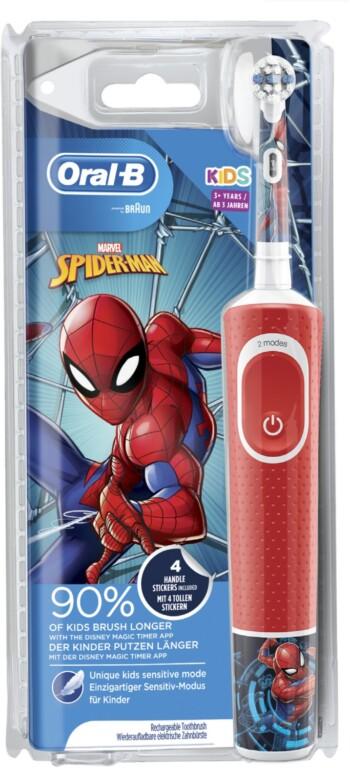 Klassische elektrische Zahnbürsten eignen sich auch für Kinder - allerdings ältere. Jüngere sollten entsprechend angepasste verwenden. (Foto: Braun)