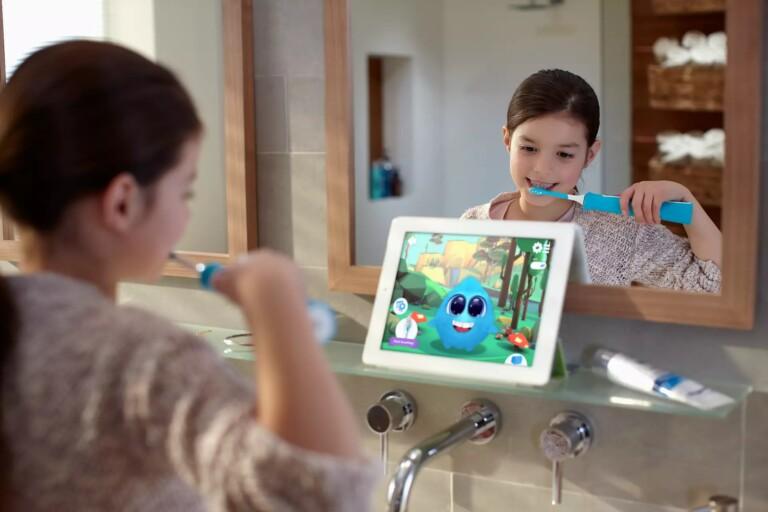 Die Sonicare for Kids ist ebenfalls smart - und durchaus praktisch für Kinder. (Foto: Philips)