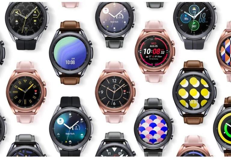 Hier im Bild: Die Galaxy Watch 3. Es ist eher eine klassische Smartwatch mit vielen Funktionen. (Foto: Samsung)