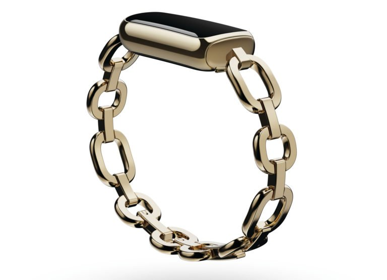 Fitbit Luxe mit Goldarmband