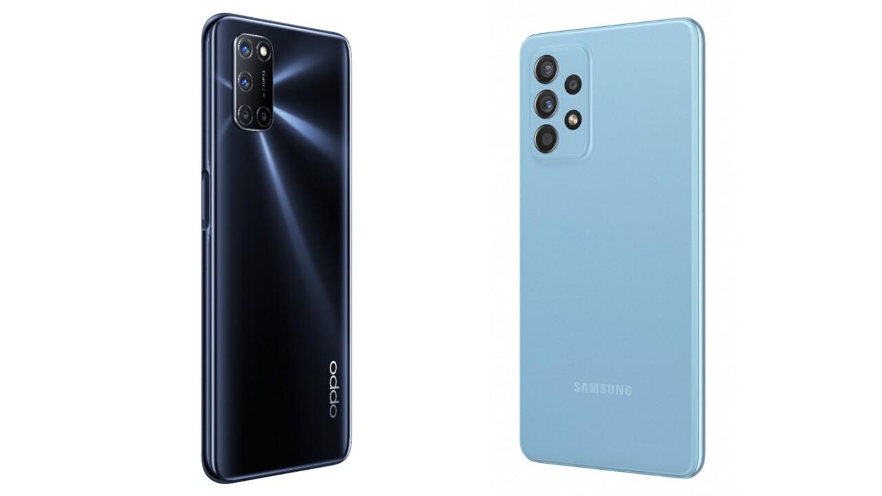 Samsung/Oppo A72 und A52: Gleicher Name, gleiche Phones?