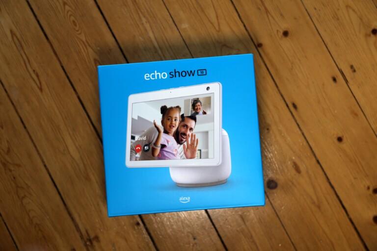 Der Echo Show 10 (3. Gen) ist ein prima Videotelefon. (Foto: Sven Wernicke)