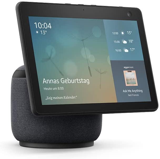 Der Echo Show 10 der 3. Generation zeigt einen neuen Ansatz für Videotelefonie. (Foto: Amazon)
