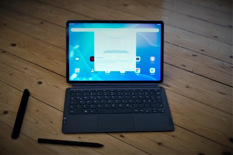 Der Funktionsmodus erlaubt Arbeiten wie am Laptop. (Foto: Sven Wernicke)