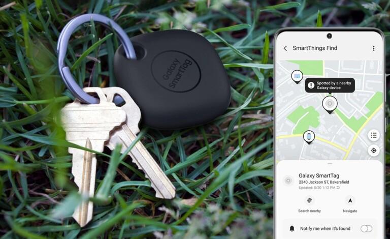 Ohne App und Community taugen solche Tracker nicht viel. (Foto: Samsung)